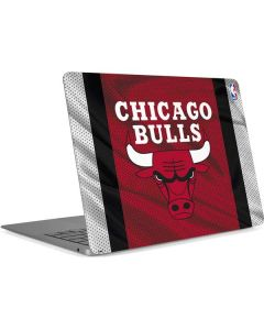 Chicago Bulls Away Jersey Apple MacBook Air Skin