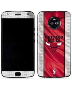 Chicago Bulls Away Jersey Moto X4 Skin