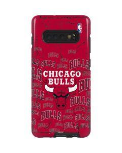 Chicago Bulls Blast Galaxy S10 Plus Pro Case