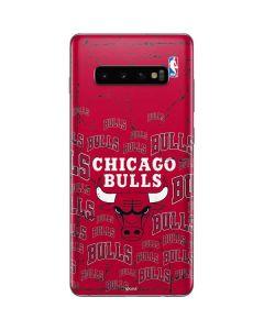 Chicago Bulls Blast Galaxy S10 Plus Skin