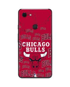 Chicago Bulls Blast Google Pixel 3 XL Skin