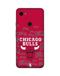 Chicago Bulls Blast Google Pixel 3a Skin