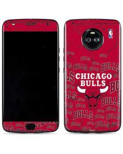 Chicago Bulls Blast Moto X4 Skin