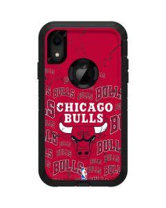 Chicago Bulls Blast Otterbox Defender iPhone Skin