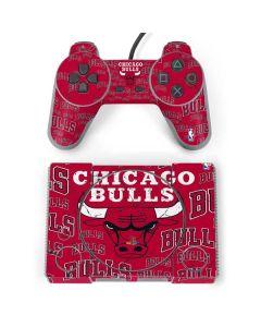 Chicago Bulls Blast PlayStation Classic Bundle Skin
