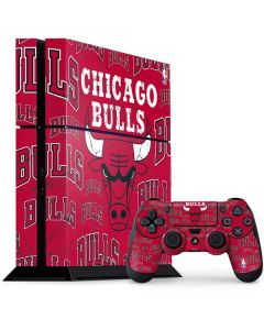 Chicago Bulls Blast PS4 Console and Controller Bundle Skin