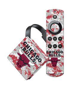 Chicago Bulls Digi Camo Amazon Fire TV Skin
