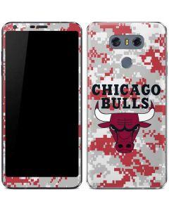 Chicago Bulls Digi Camo LG G6 Skin