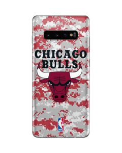 Chicago Bulls Digi Camo Galaxy S10 Plus Skin