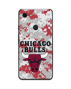 Chicago Bulls Digi Camo Google Pixel 3 XL Skin