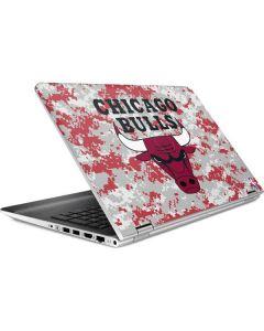 Chicago Bulls Digi Camo HP Pavilion Skin