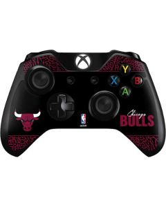 Chicago Bulls Elephant Print Xbox One Controller Skin