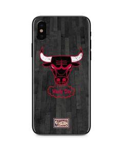Chicago Bulls Hardwood Classics iPhone X Skin