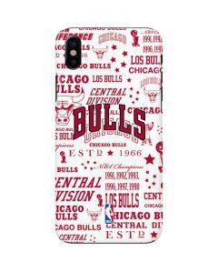 Chicago Bulls Historic Blast iPhone X Lite Case