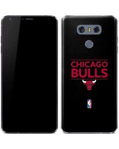 Chicago Bulls Standard - Black LG G6 Skin