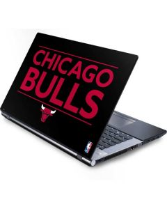 Chicago Bulls Standard - Black Generic Laptop Skin