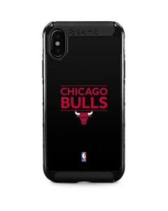 Chicago Bulls Standard - Black iPhone X Cargo Case
