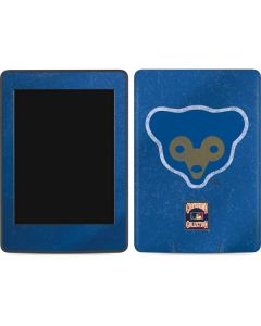 Chicago Cubs - Cooperstown Distressed Amazon Kindle Skin