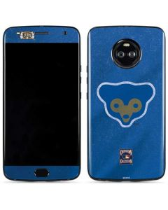 Chicago Cubs - Cooperstown Distressed Moto X4 Skin