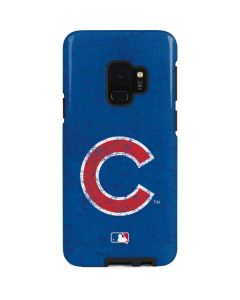 Chicago Cubs - Solid Distressed Galaxy S9 Pro Case
