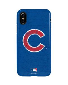 Chicago Cubs - Solid Distressed iPhone XS Max Pro Case