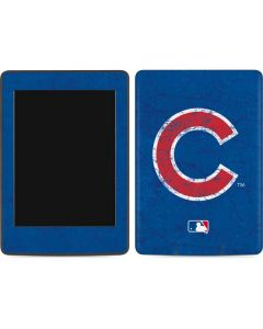 Chicago Cubs - Solid Distressed Amazon Kindle Skin