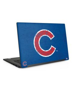 Chicago Cubs - Solid Distressed Dell Latitude Skin