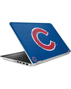 Chicago Cubs - Solid Distressed HP Pavilion Skin