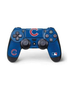 Chicago Cubs - Solid Distressed PS4 Pro/Slim Controller Skin