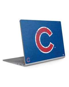 Chicago Cubs - Solid Distressed Surface Book 2 13.5in Skin
