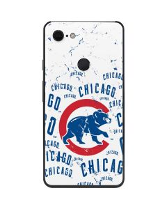 Chicago Cubs - White Cap Logo Blast Google Pixel 3 XL Skin
