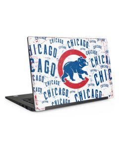 Chicago Cubs - White Cap Logo Blast Dell Latitude Skin