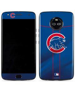 Chicago Cubs Alternate/Away Jersey Moto X4 Skin