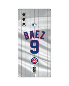 Chicago Cubs Baez #9 Galaxy Note 10 Skin
