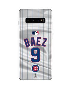 Chicago Cubs Baez #9 Galaxy S10 Plus Skin