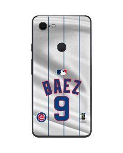 Chicago Cubs Baez #9 Google Pixel 3 XL Skin