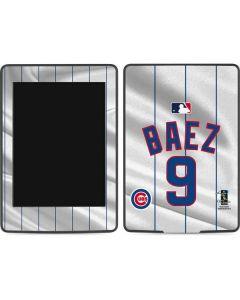 Chicago Cubs Baez #9 Amazon Kindle Skin