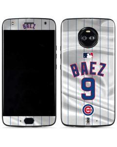 Chicago Cubs Baez #9 Moto X4 Skin