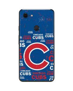 Chicago Cubs -Cap Logo Blast Google Pixel 3 XL Skin