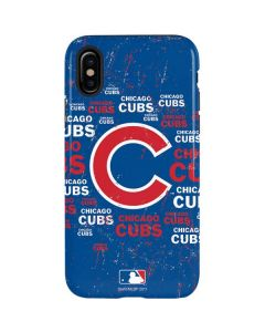 Chicago Cubs -Cap Logo Blast iPhone X Pro Case