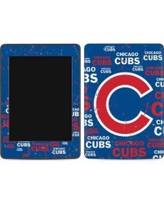 Chicago Cubs -Cap Logo Blast Amazon Kindle Skin