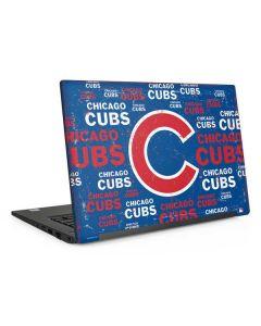 Chicago Cubs -Cap Logo Blast Dell Latitude Skin