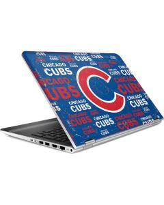 Chicago Cubs -Cap Logo Blast HP Pavilion Skin