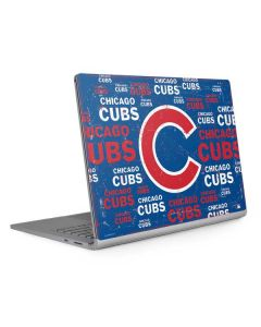 Chicago Cubs -Cap Logo Blast Surface Book 2 13.5in Skin