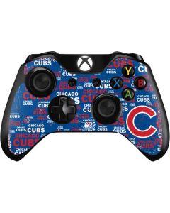 Chicago Cubs -Cap Logo Blast Xbox One Controller Skin
