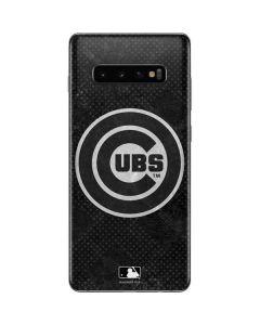 Chicago Cubs Dark Wash Galaxy S10 Plus Skin