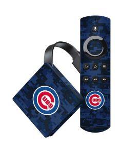 Chicago Cubs Digi Camo Amazon Fire TV Skin