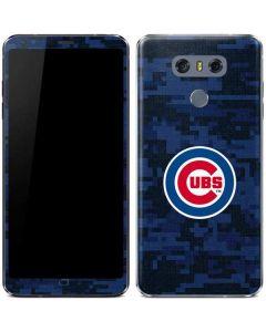 Chicago Cubs Digi Camo LG G6 Skin