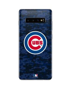 Chicago Cubs Digi Camo Galaxy S10 Plus Skin