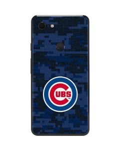 Chicago Cubs Digi Camo Google Pixel 3 XL Skin